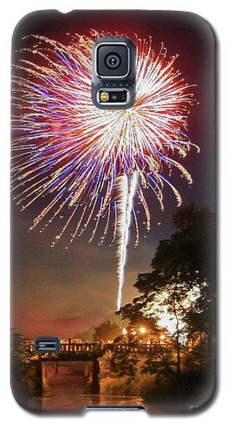 Utica Fireworks Galaxy S5 Case