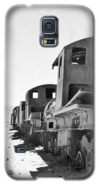 Uyuni Train Cemetery  Galaxy S5 Case