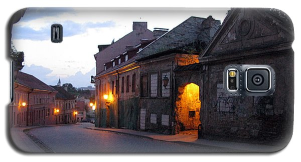 Uzupis Street. Old Vilnius. Lithuania. Galaxy S5 Case
