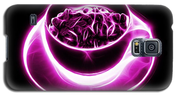 V2-bb-electrifyin The Coffee Bean-magenta Galaxy S5 Case