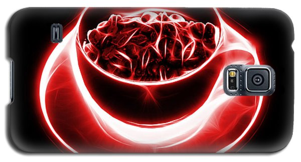 V2-bb-electrifyin The Coffee Bean-red Galaxy S5 Case