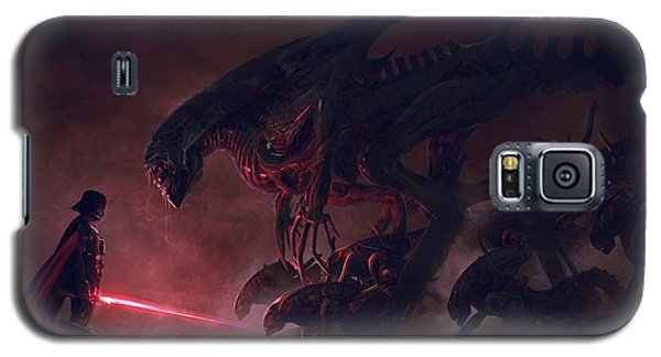 Star Wars Galaxy S5 Case - Vader Vs Aliens 4 by Exar Kun