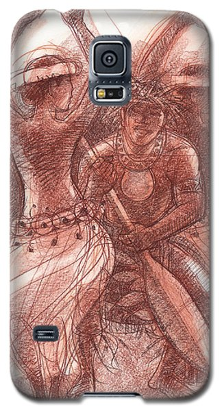 Vaka Drum Dance Galaxy S5 Case