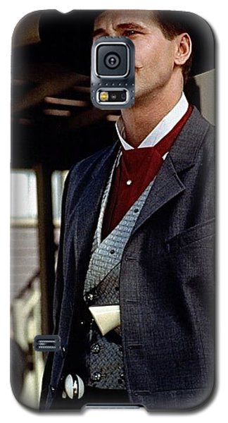 Val Kilmer As Doc Holliday Tombstone Set 1993-2015 Galaxy S5 Case
