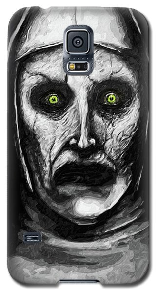 Valak The Demon Nun Galaxy S5 Case by Taylan Apukovska