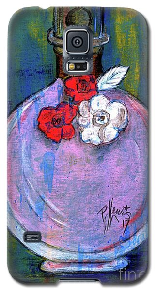 Galaxy S5 Case featuring the painting Valentina by P J Lewis