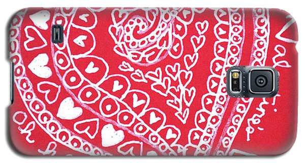 Valentine Heart Galaxy S5 Case