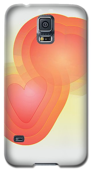 Galaxy S5 Case featuring the digital art Valentine by Sherril Porter