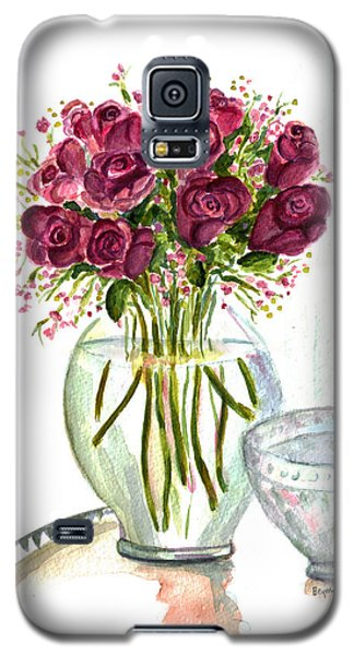Valentines Crystal Rose Galaxy S5 Case