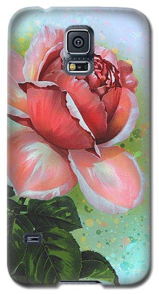 Galaxy S5 Case featuring the digital art  Valentine's Day by Andrzej Szczerski