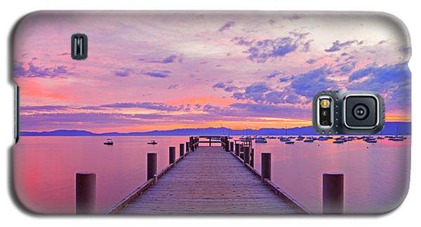 Valhalla Pier Sunrise By Brad Scott Galaxy S5 Case