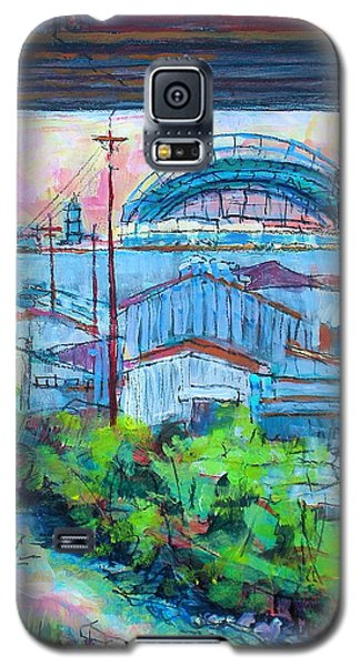 Valley Below Galaxy S5 Case by Les Leffingwell