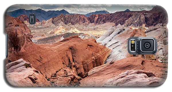 Galaxy S5 Case featuring the photograph Valley Of Fire Expanse by Jason Moynihan