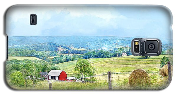 Valley Farm Galaxy S5 Case by Francesa Miller