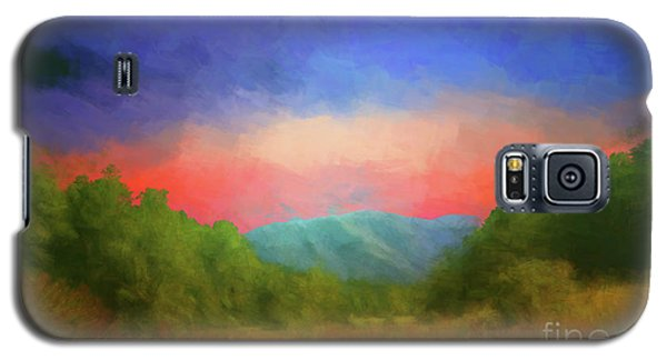 Valley In The Cove Galaxy S5 Case by Geraldine DeBoer