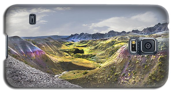 Galaxy S5 Case featuring the photograph Valley Of Beauty,badlands South Dakota by John Hix