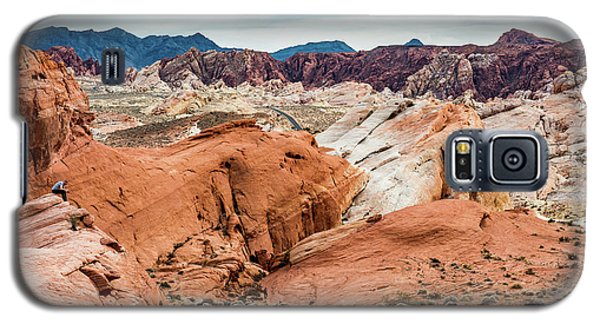 Valley Of Fire  Galaxy S5 Case