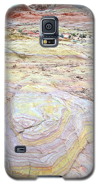 Galaxy S5 Case featuring the photograph Valley Of Fire Pastels by Ray Mathis