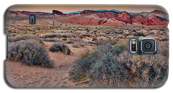 Valley Of Fire Sunset Galaxy S5 Case