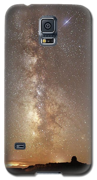 Valley Of The Gods Milky Way Galaxy S5 Case
