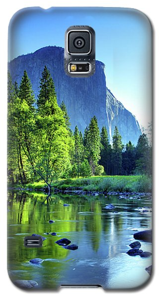Valley View Morning Galaxy S5 Case by Rick Berk