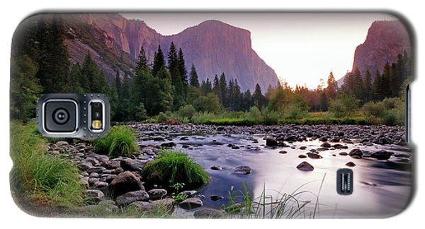 Valley View Sunrise Galaxy S5 Case