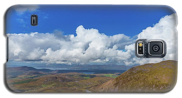 Galaxy S5 Case featuring the photograph Valleys And Mountains In County Kerry On A Summer Day by Semmick Photo