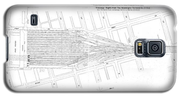 Valuation Map Washington Union Station Galaxy S5 Case