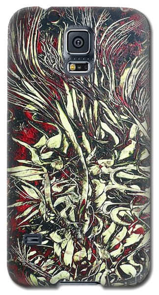 Galaxy S5 Case featuring the digital art Vampire Blood By Nico Bielow by Nico Bielow