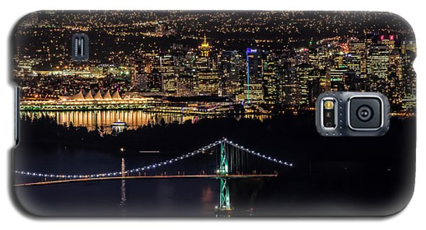 Vancouver Night From Cypress Mountain Galaxy S5 Case