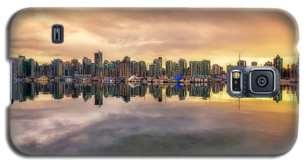 Galaxy S5 Case featuring the photograph Vancouver Reflections by Eti Reid