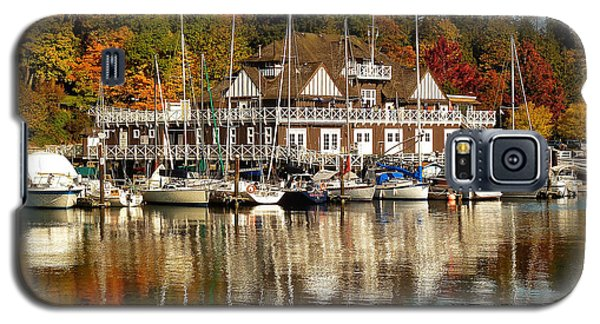 Vancouver Rowing Club In Autumn Galaxy S5 Case