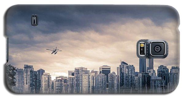 City Sunset Galaxy S5 Case - Vancouver Skyline by Art Spectrum