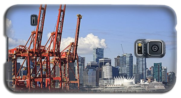 Vancouver Waterfront Skyline Galaxy S5 Case by Charline Xia
