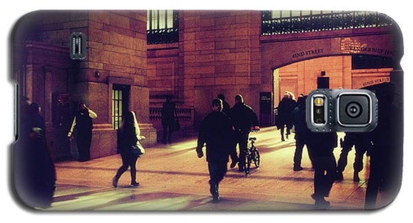 Galaxy S5 Case featuring the photograph Grand Central Rush by Jessica Jenney
