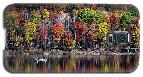Vanishing Autumn Reflection Landscape Galaxy S5 Case