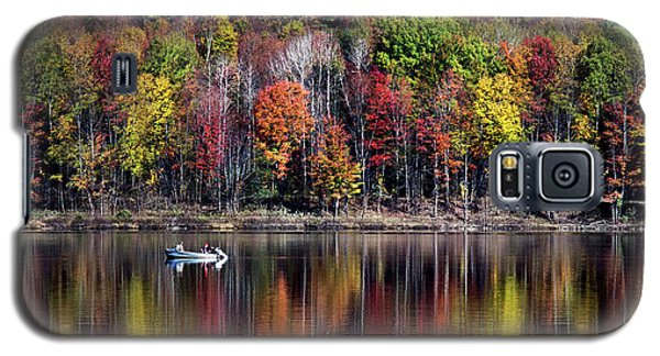 Vanishing Autumn Reflection Landscape Galaxy S5 Case