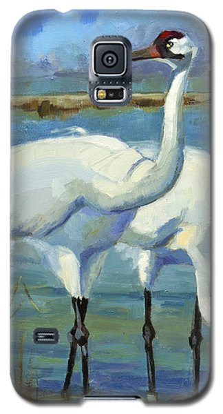 Sold Vanishing Hoopers Galaxy S5 Case by Nancy  Parsons