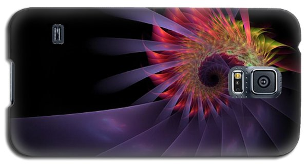 Galaxy S5 Case featuring the digital art Vanquishing Silence by NirvanaBlues