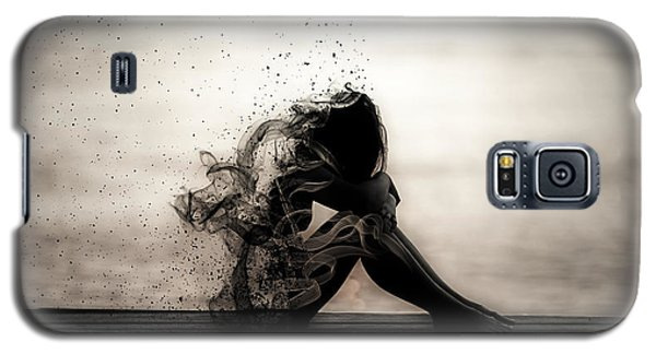 Galaxy S5 Case featuring the digital art Vapours Of Sadness by ISAW Company