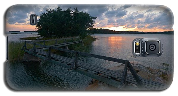 Galaxy S5 Case featuring the photograph Variations Of Sunsets At Gulf Of Bothnia 6 by Jouko Lehto