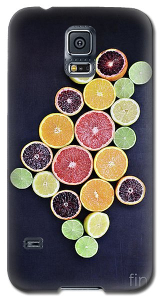 Galaxy S5 Case featuring the photograph Variety Of Citrus Fruits by Stephanie Frey