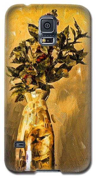 Vase And Flowers Galaxy S5 Case
