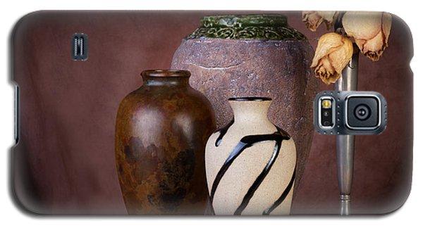 Vase And Roses Still Life Galaxy S5 Case