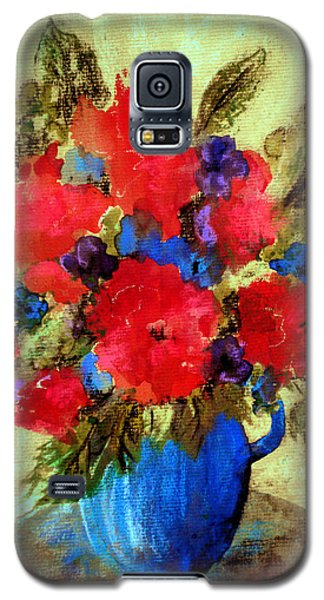 Vase Of Delight-still Life Painting By V.kelly Galaxy S5 Case