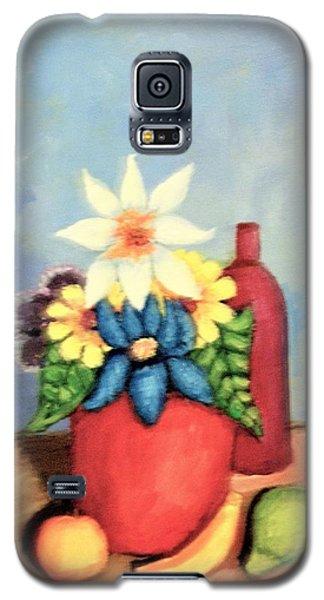 Vase Of Flowers Galaxy S5 Case
