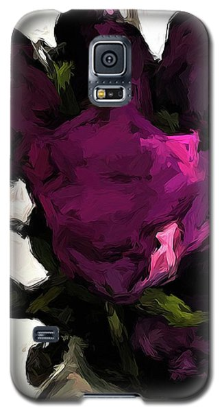 Vase Of Roses With Shadows 1 Galaxy S5 Case