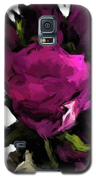 Vase Of Roses With Shadows 2 Galaxy S5 Case