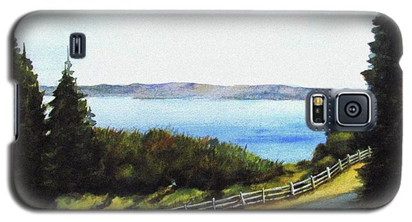 Galaxy S5 Case featuring the painting Vashon Island by Marti Green