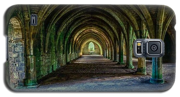 Vaulted, Fountains Abbey, Yorkshire, United Kingdom Galaxy S5 Case